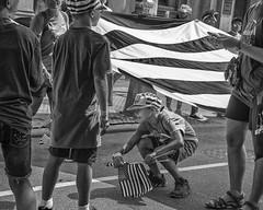 Chestnut Street, 2017 (Alan Barr) Tags: phlladelphia 2017 chestnutstreet independenceday parade street sp streetphotography streetphoto blackandwhite bw blackwhite mono monochrome candid people philadelphia lumix gx8