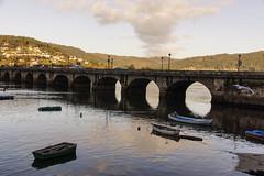 Pontedeume (Lou Rouge) Tags: galicia pontedeume puente bridge boats barcas spain