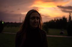 phoenix (bonzerg) Tags: nikon d5100 girl sunset light sky park photo photoportrait portrait