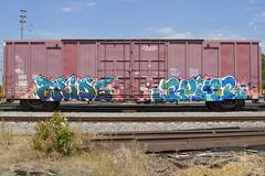 Tride Ruinr (Psychedelic Wardad) Tags: freight graffiti koc ngc ruinr momscrew moms bteam ktc tride