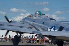 DSC06233 (Alan Gaunt) Tags: aircraft airplane aviation b17 b17g boeing bomber flyingfortress plane worldwar2 worldwarii ww2