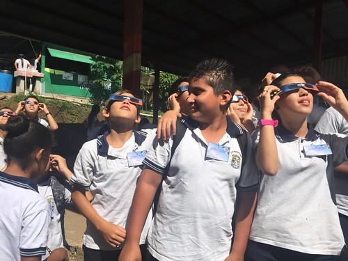 Campaña preparación Eclipse solar- Sarapiquí