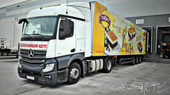 Mercedes Actros MP4 420 (my 2nd truck) (gripshotz) Tags: mercedes actros mp4 420 truck germany