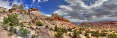 Grand Panorama of Sky Pocket (Chief Bwana) Tags: az arizona pariaplateau vermilioncliffs navajosandstone skypocket wilderness panorama psa104 chiefbwana 2017fav 500views