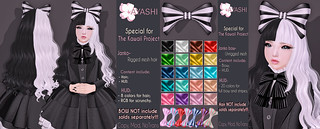 [^.^Ayashi^.^] Janko hair and bow special for The Kawaii Project