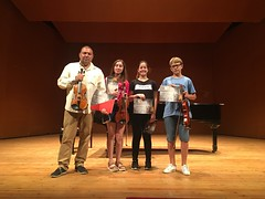 Masterclass de violín en el VII Festival Peregrinos Musicales