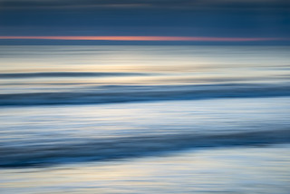 Seascape abstract at dawn
