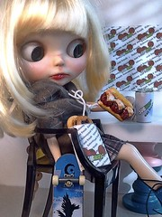 Blythe-a-Day July#29 Italy or Italian Food: Little Bea&The Sandwich Shop