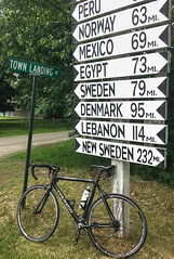 Colnago in Maine - How it should be (2Colnagos) Tags: maine bicycle colnago town directional sign carbon racing bike president small cycling norway sweden lebanon denmark outdoors recreational china