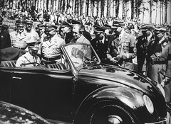 1938 Volkswagen Beetle Convertible Press Photo - Adolf Hitler - Third Reich Germany (Five Starr Photos ( Aussiefordadverts)) Tags: 1938volkswagenbeetle volkswagenbeetle adolfhitler thirdreich nazigermany ferdinandporsche firstreleaseofthevolkswagenbeetle