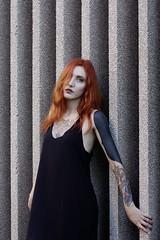 (_Cogito Ergo Sum_) Tags: portrati portraitist beauty beautiful gorgeous nice pretty cute redhead redhair hair eyes face lips tatoo girl woman photo photography photographer