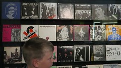 (andrew gallix) Tags: william yeartwelve britishlibrary london punk197678 exhibition punk punkrock recordsleeves singles whitemaninhammersmithpalais