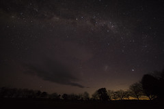 A winter's night at Ruffy (whale05) Tags: light pollution australia lmc milkyway galaxy space widefied astrophotography