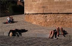 Parejas (Manuel Moraga) Tags: manuelmoraga parejas descanso sevilla andalucía españa