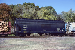 ACFX 47397 (Chuck Zeiler) Tags: acfx 47397 railroad covered hopper freight car train cotter chuckzeiler chz