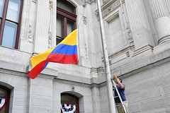 2017 Colombia Flag Raising-018 (Philly_CityRep) Tags: cityofphiladelphia colombia flag raising