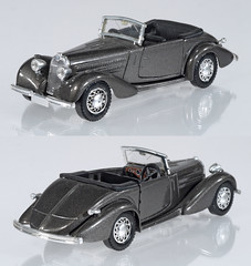SOL-4003-Talbot (adrianz toyz) Tags: solido diecast toy model car vintage 143 scale 4003 talbot t23 1937