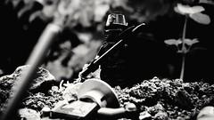 The Dark Knight (dwarfbricks29) Tags: medieval dark knight most powerful all around world lego outdoor scene