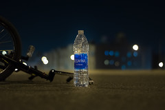AquaFina (ImKruz) Tags: water bottle waterbottle bmx bike biking biker bokeh depth field blur amazing shot amazingshot primelens prime