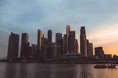 The Lion City skyline (danialridhuan) Tags: marinabayfinancialdistrict marinabay singapura lioncity southeastasia asia singapore