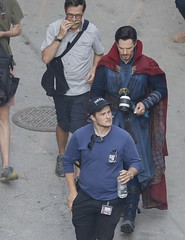 UHQ Avengers: Infinity War Set Pictures (anythingdoctorstrange) Tags: avengers infinity war atlanta usa 28 jun 2017 cast members benedict cumberbatch works during filming set is modeled after a new york city street celebrity entertainment arts united states north america georgia 60710709 benedictcumberbatch markruffalo avengersinfinitywar robert downey jr