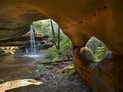 From Inside A Widow Of Nature (Bill Fultz) Tags: funstonarchcomplex eaglecreeknaturalbridge kentucky danielboonenationalforest