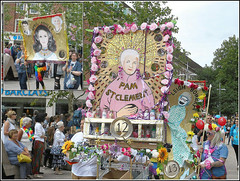 Pam St Clement and April Ashley... (** Janets Photos **) Tags: uk hull citycentres hullpride parades processions