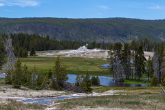 Castle Geyser (repete7) Tags: yellowstonenationalpark wyoming usa castlegeyser uppergeyserbasin canon canon6d canon24105l fireholeriver