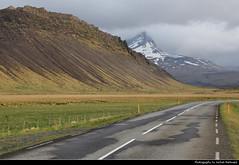 Route 50 near Hvanneyri, Iceland (JH_1982) Tags: route 50 road roadtrip landscape scenery scenic mountain mountains snow summit natur strasse hvanneyri borgarbyggð vesturland skarðsheiði iceland ísland island islandia islande islanda islândia 冰岛 アイスランド 아이슬란드 исландия आइसलैण्ड آيسلندا