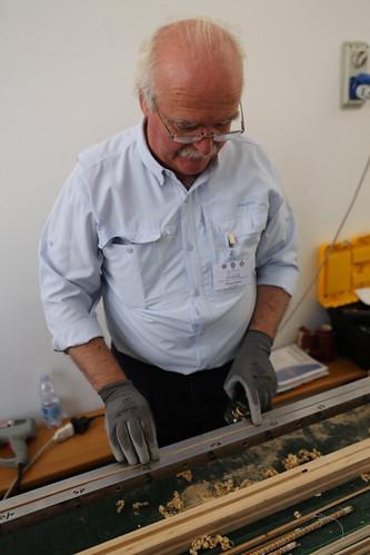 rod maker Silvano Sanna