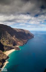 Napali Coast (Patrick.Burns) Tags: napalicoast kauai hawaii helicopter island sea water landscape ocean coast sky