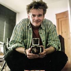 1997 (salparadise666) Tags: kiev88 nils volkmer vintage camera russian 1997 unsharp 6x6 medium format square portrait self analogue film blurry
