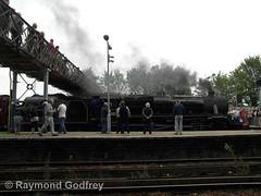 Black Five 44932 (Faversham 2009) Tags: swalefestivaloftransport 44932 faversham kent england uk railway station train trains rail blackfive black5 steam locomotive loco