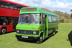 The first of many. (steve vallance coach and bus) Tags: c201ekj mercedesbenz rootes maidstonedistrict southeastbusfestival detling preserved