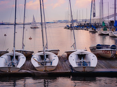 Lets sail over Boston Harbor (ravi_pardesi) Tags: boston charlestown harborfront charles river northamerica usa eastcoast boats sailing sunset vibrant colors colorful summers summer outdoor warm tones