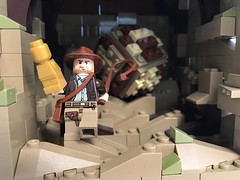 INDIANA JONES LEGO (PUISSANCE BRICK) Tags: lego afol bricks indianajones harrisonford moc
