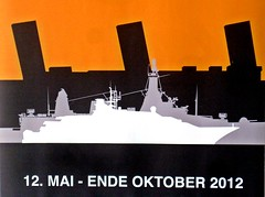 Hamburg Hafen - Maritime Museum Poster (zorro1945) Tags: hamburg hh deutschland germany europe europa poster sign advert ad advertisement hamburgmaritimemuseum maritimemuseum museum steamship oceanliner warships