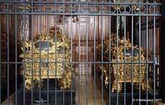 Berliner Dom, goldverzierte Sarkophage der Hohenzollern. (ditmaliepaard) Tags: berlinerdom goldverziertesarkophagederhohenzollern a6000 sony kerk church germany