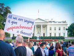 2017.07.26 Protest Trans Military Ban, White House, Washington DC USA 7615
