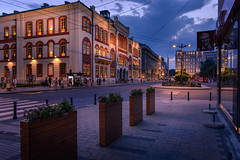 Beautiful blue hour (Master Iksi) Tags: blue orange lights city night belgrade beograd serbia nikond7100 sigma1750 architecture buildings