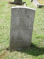 Monmouth Cemetery, Osbaston Road, Monmouth 12 July 2017 (Cold War Warrior) Tags: taphology cemetery graveyard monmouth monmouthshire ww2 cwgc ra reginaldkennethdavies royalartillery 69fieldregimentra