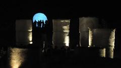 Nell'arena delle balle di paglia (lorenzog.) Tags: nikon d700 nellarenadelleballedipaglia cotignola italy ravenna night arenadelleballedipaglia silhouette people