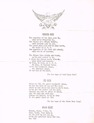 Class songs and chant (terry lorenc) Tags: jhs class 1967 jamestown high school new york