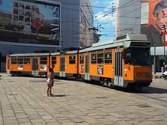 ATM 4984 (jvr440) Tags: tram trolley strassenbahn atm milano 4900 jumbotram jumbo