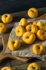 Raw Organic Yellow Donut Saturn Peaches