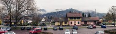 Not Quite Derelict (SacredSkull) Tags: city freiberg panorama contrasted blackforest nature