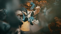 377 Discovery (Katrina Yu) Tags: selfportrait birds manipulation photoshop force nature movement 2017 365project conceptual creative concept cinematic surreal surrealphotography fineart artsy artistic