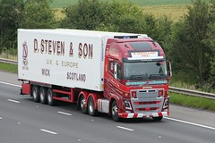 D Steven & Son 19th July 2017 (asdofdsa) Tags: transport haulage hgv m18 motorway truck lorry