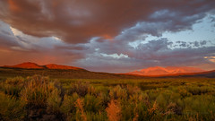 Sunset Storm Light on the White Mountains (Jeffrey Sullivan) Tags: sunset white mountains timelapse mono county benton california usa easternsierra landscape nature canon eos 6d photo copyright 2017 jeff sullivan photography july storm