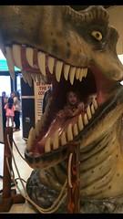 Isla (rudyg39) Tags: dinosaur californiastatefair calexpo sacramento isla family